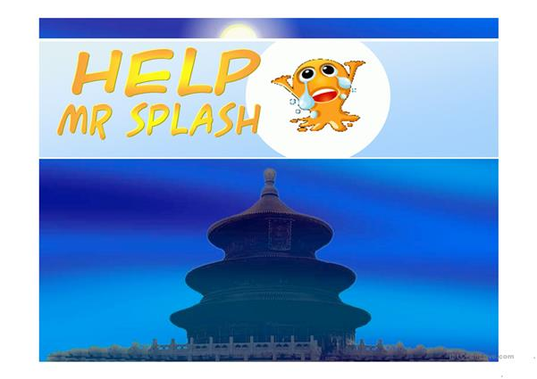 Help Mr. Splash