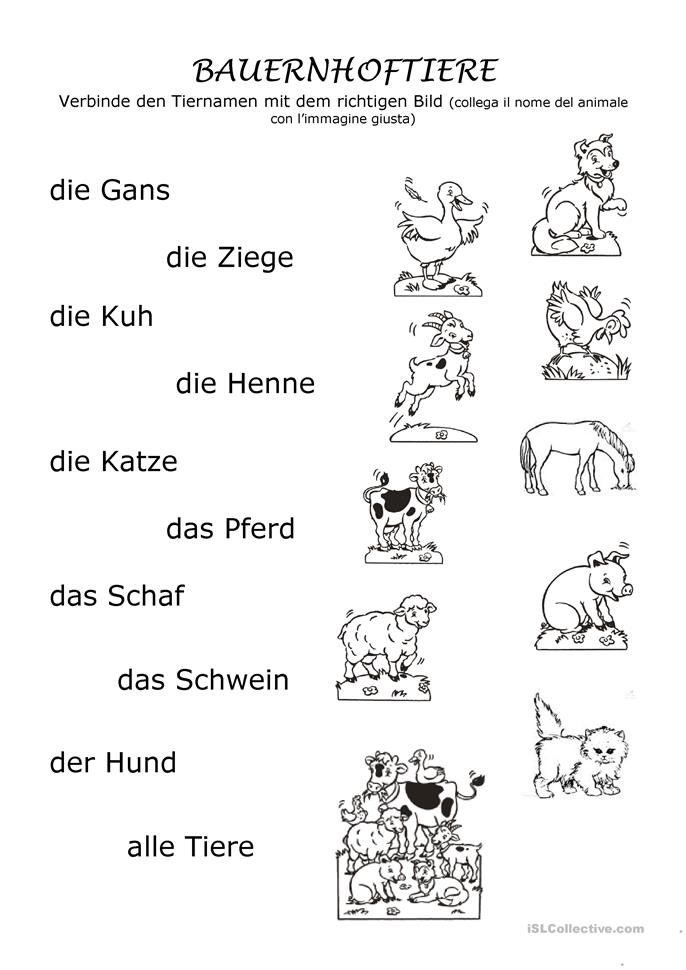 198 frei daf tiere worksheets page 3