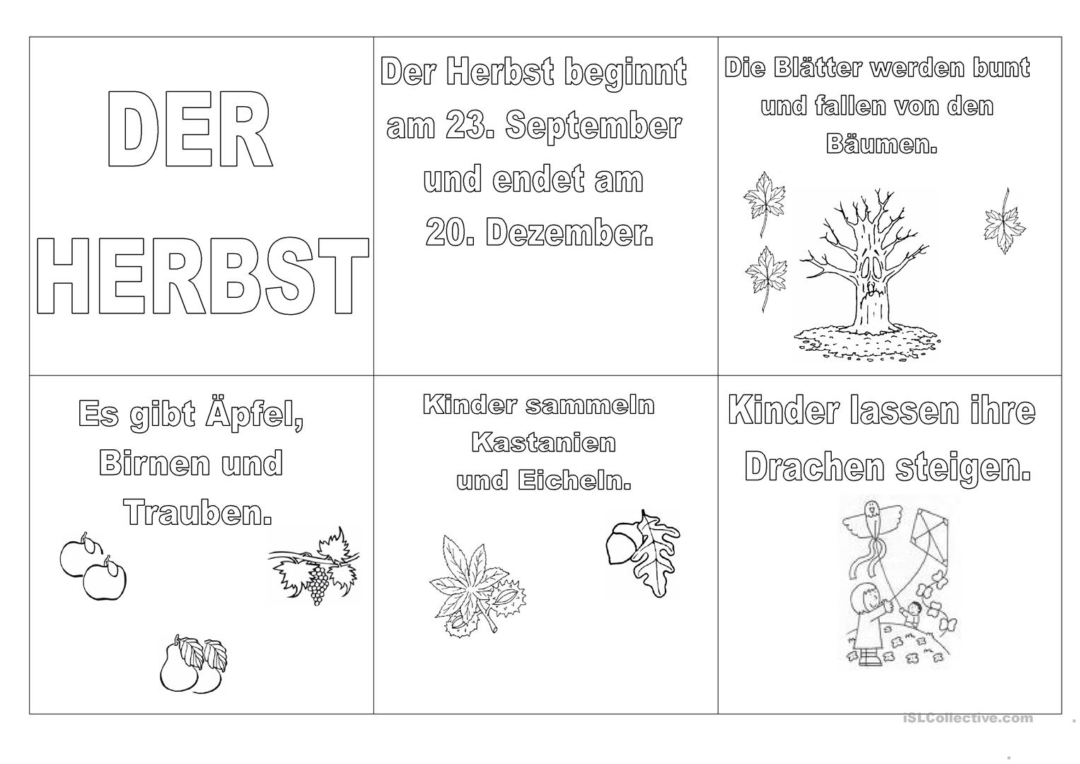 Awesome Herbst Mathe Arbeitsblatt Pattern - Kindergarten ...