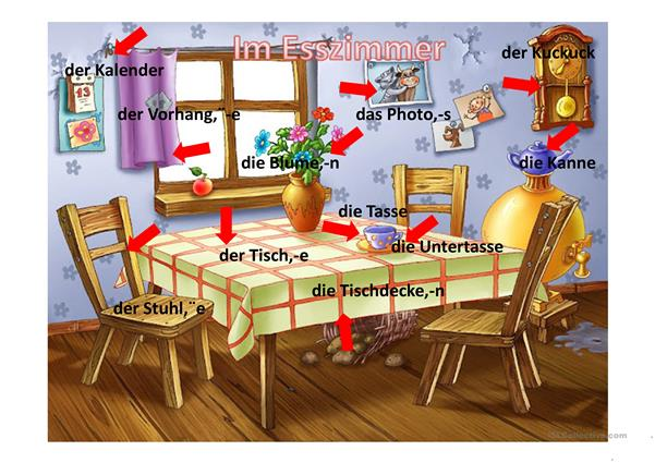 mein haus arbeitsblatt free esl projectable worksheets made by teachers. Black Bedroom Furniture Sets. Home Design Ideas