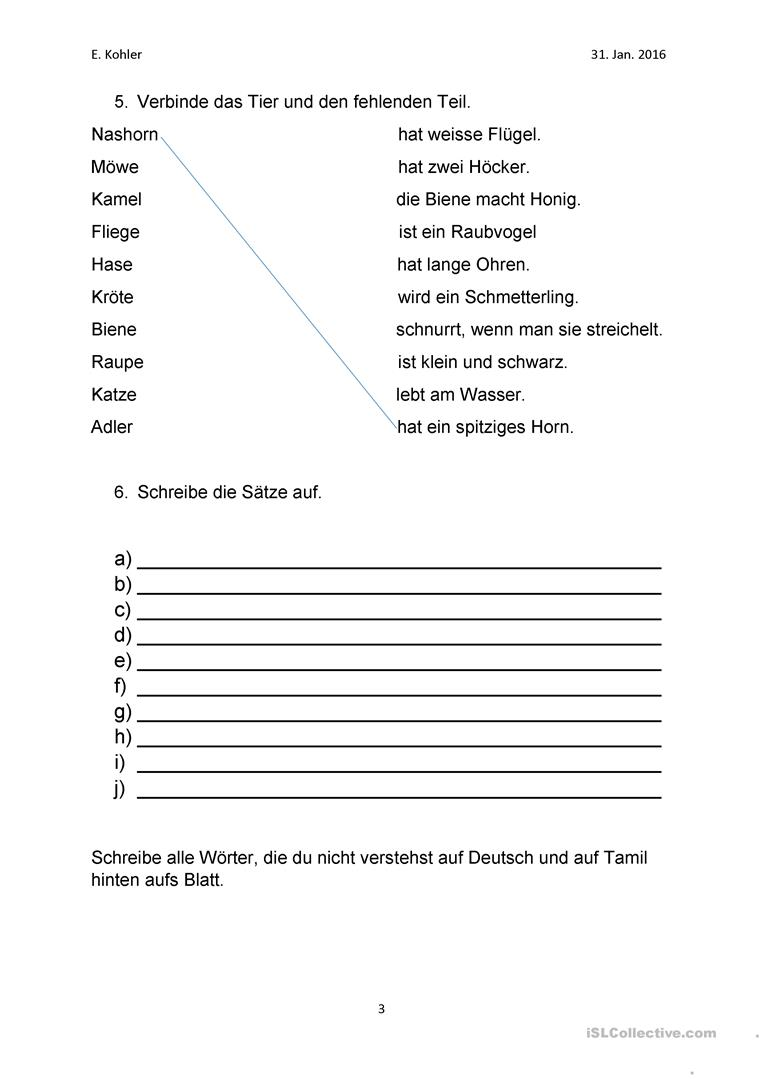 Old Fashioned 5 Satz Absatz Arbeitsblatt Collection - Kindergarten ...